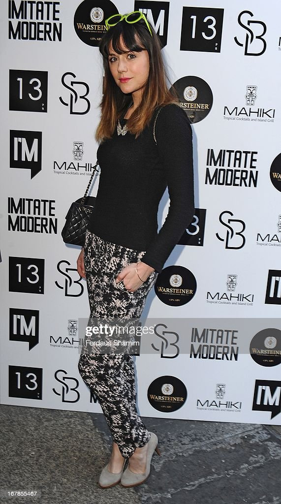 Leila Parsons attends the Human Relations private view at Imitate Modern on May 1, 2013 in London, England.