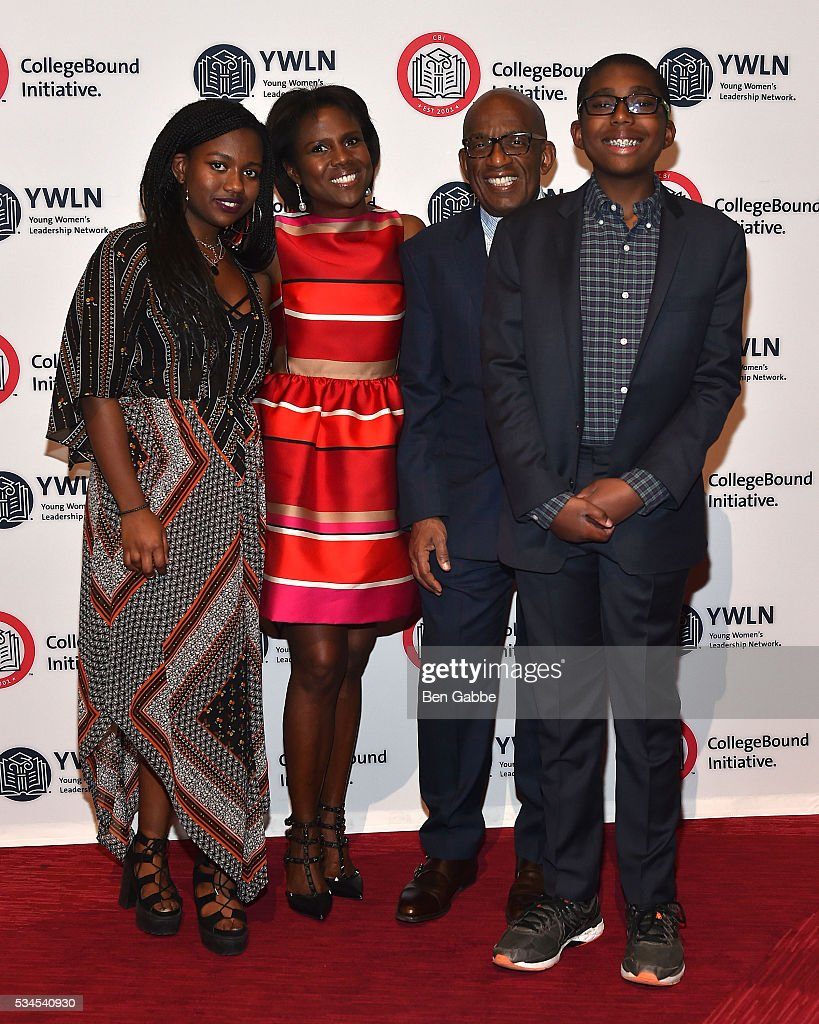Leila Roker, <a gi-track='captionPersonalityLinkClicked' href=/galleries/search?phrase=Deborah+Roberts&family=editorial&specificpeople=214075 ng-click='$event.stopPropagation()'>Deborah Roberts</a>, <a gi-track='captionPersonalityLinkClicked' href=/galleries/search?phrase=Al+Roker&family=editorial&specificpeople=206153 ng-click='$event.stopPropagation()'>Al Roker</a> and Nicholas Albert Roker attend the 2016 CollegeBound Initiative Celebration at Jazz at Lincoln Center on May 26, 2016 in New York City.