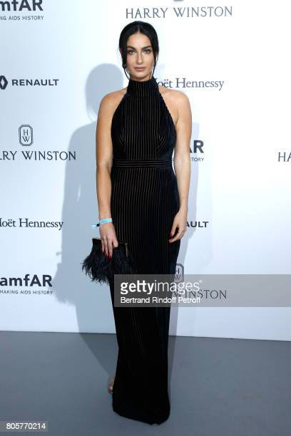 Leila Yavari attends the amfAR Paris Dinner 2017 at Le Petit Palais on July 2 2017 in Paris France