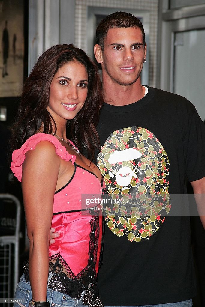 Leilani Dowling and Jeremie Aliadiere during 'Serenity' London Premiere - Arrivals at Odeon West End in London, United Kingdom.
