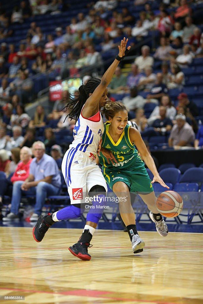 Australia v France - USA Basketball Showcase
