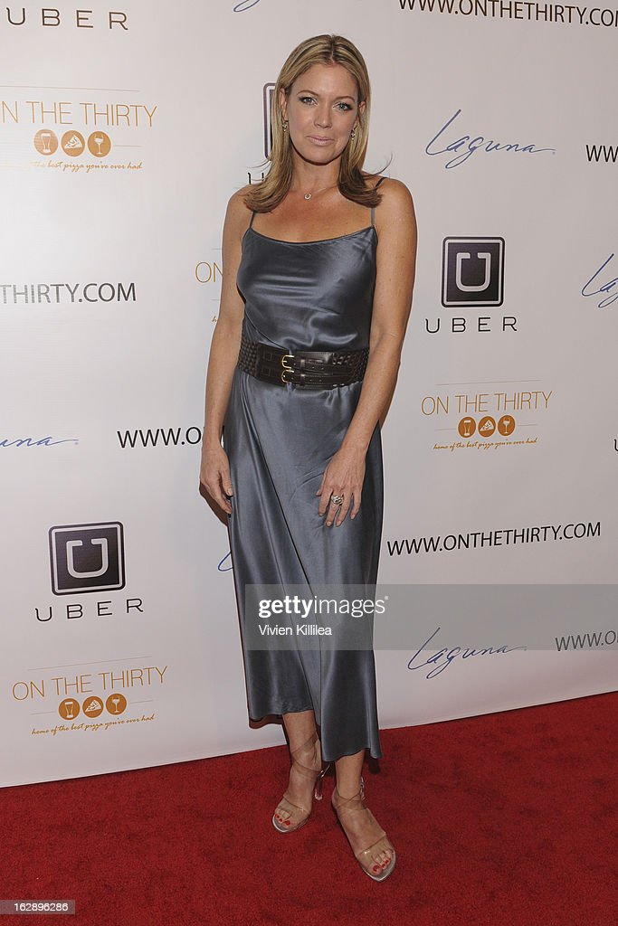 Leilani Sarelle attends 'On The Thirty' Grand Opening at On The Thirty on February 28, 2013 in Sherman Oaks, California.
