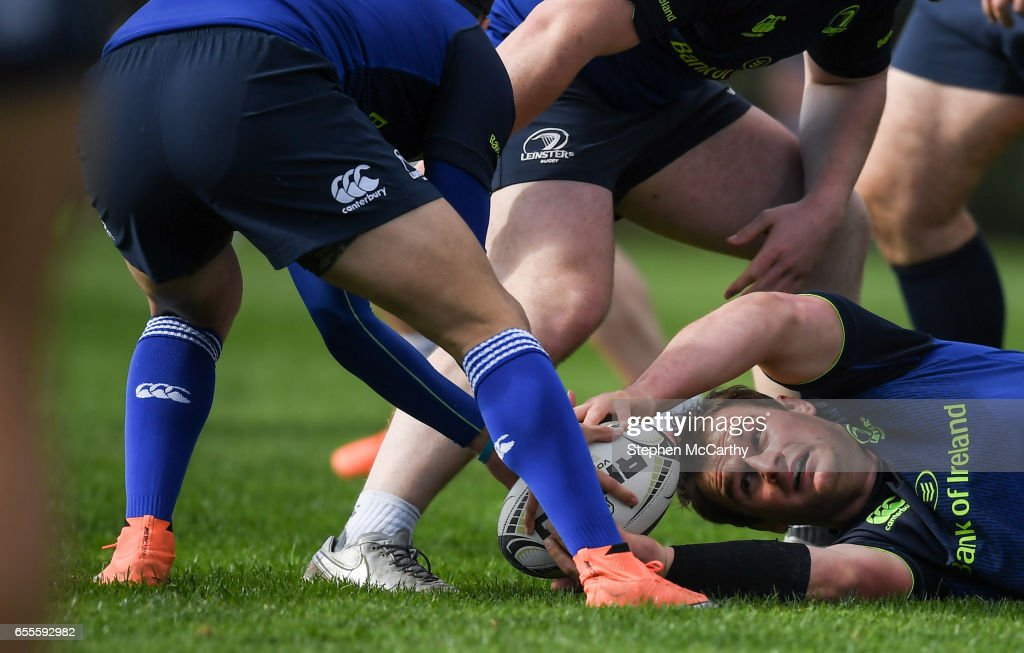 Leinster , Ireland - 20 March 2017; Rhys Ruddock of Leinster during squad training at UCD in Dublin.