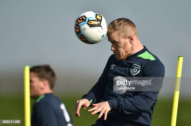 Leinster Ireland 27 March 2017 Daryl Horgan of the Republic of Ireland during squad training at FAI National Training Centre in Abbotstown Co Dublin