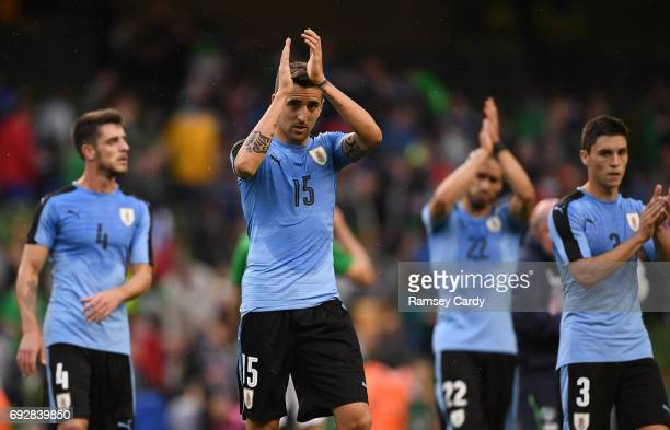 Leinster Ireland 4 May 2017 Matias Vecino of Uruguay following the international friendly match between Republic of Ireland and Uruguay at the Aviva...