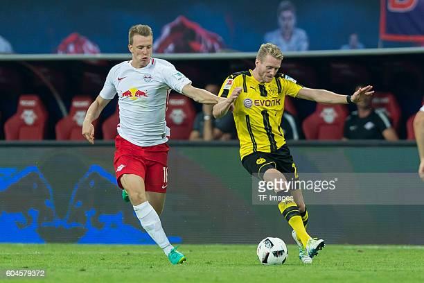 Leipzig Germany 1Bundesliga 2 Spieltag RB Leipzig BV Borussia Dortmund 10 Lukas Klostermann gegen Andre Schuerrle
