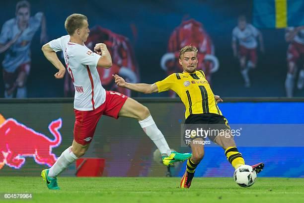 Leipzig Germany 1Bundesliga 2 Spieltag RB Leipzig BV Borussia Dortmund 10 Lukas Klostermann gegen Marcel Schmelzer