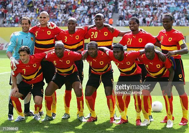 Angolan midfielder Figueiredo midfielder Miloy midfielder Mateus midfielder Ze Kalanga midfielder Mendonca Angolan goalkeeper Joao Ricardo defender...