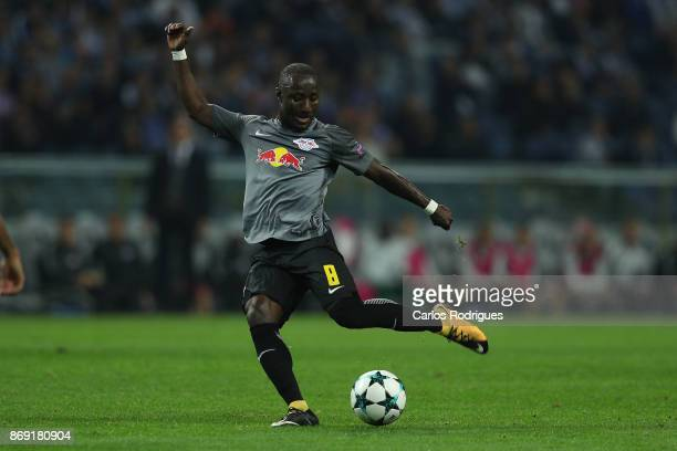 Leipzig midfielder Naby Keita from Guine during the match between FC Porto v RB Leipzig or the UEFA Champions League match at Estadio do Dragao on...
