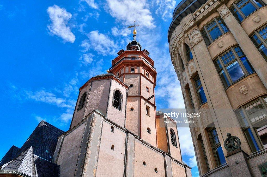 Leipzig, Nikolaikirche, Saxony : Stock Photo
