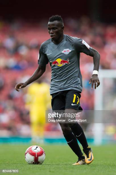 Leipzig's Bruma in action during the Emirates Cup match between RB Leipzig and SL Benfica at Emirates Stadium on July 30 2017 in London England