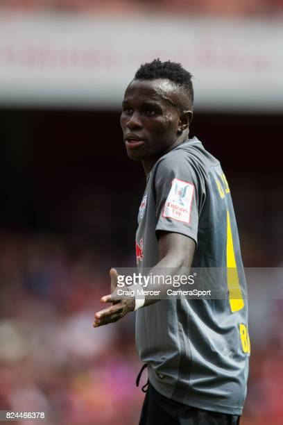 Leipzig's Bruma reacts during the Emirates Cup match between RB Leipzig and SL Benfica at Emirates Stadium on July 30 2017 in London England