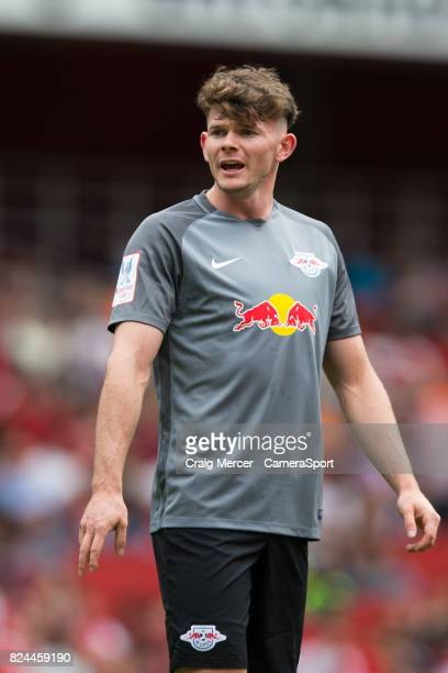 Leipzig's Oliver Burke during the Emirates Cup match between RB Leipzig and SL Benfica at Emirates Stadium on July 30 2017 in London England