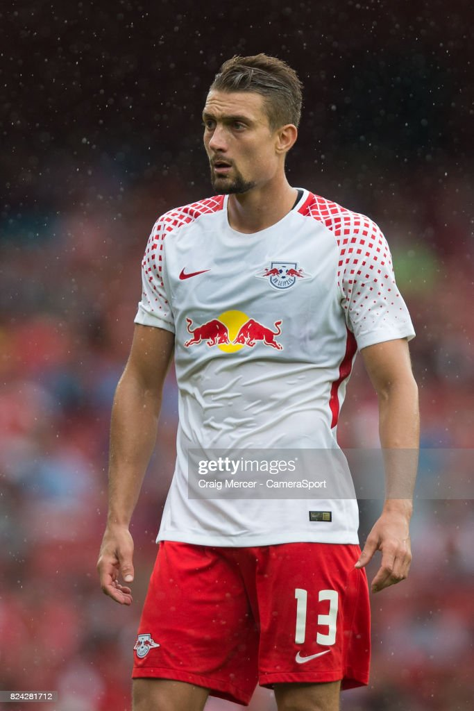 RB Leipzig's Stefan Ilsanker during the Emirates Cup match between RB Leipzig and Sevilla FC at Emirates Stadium on July 29, 2017 in London, England.