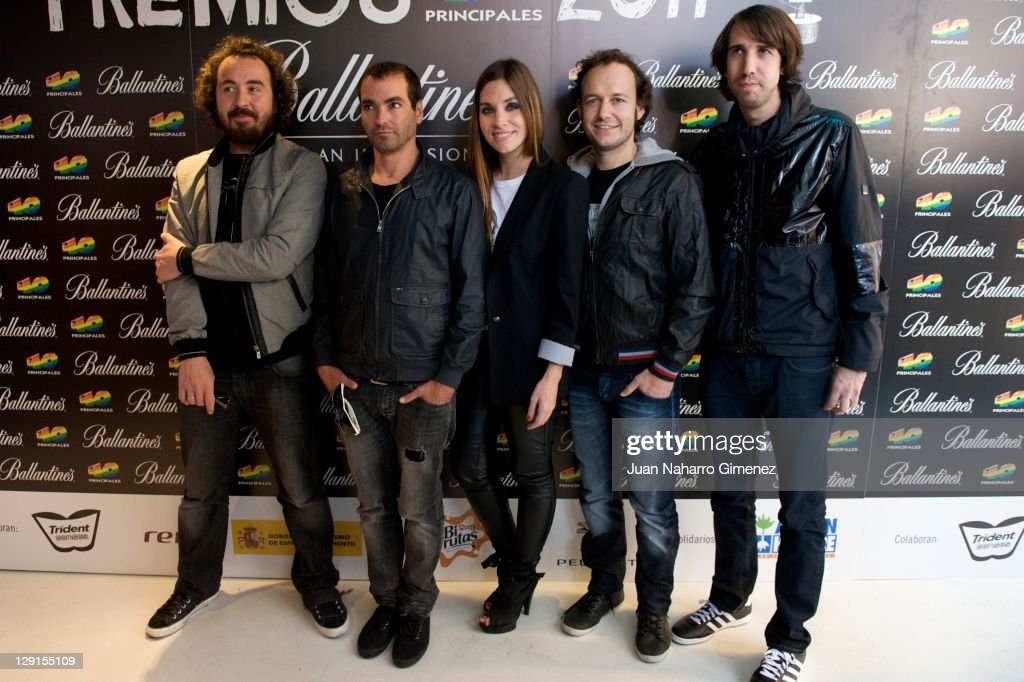 Candidates for 40 Principales Awards 2011 Presentation