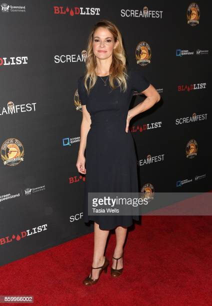 Leisha Hailey at Screamfest Opening Night premiere of 'Dead Ant' at Grauman's Chinese Theatre on October 10 2017 in Hollywood California