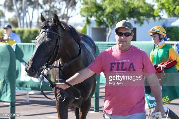 Leishman wins the Ballan District Health Care 0 58 Handicap at Geelong Racecourse on November 11 2017 in Geelong Australia
