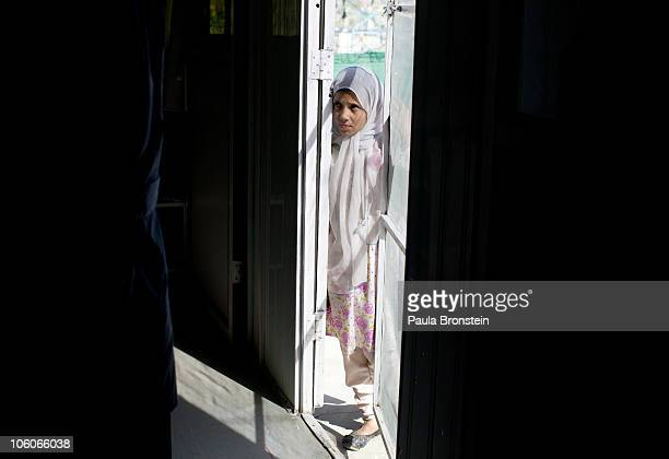 A leishmaniasis patient waits outside the clinic to be treated at a free specialized clinic for leishmaniasis supported by World Health Organization...