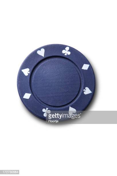 Leisure: Blue Poker Chip