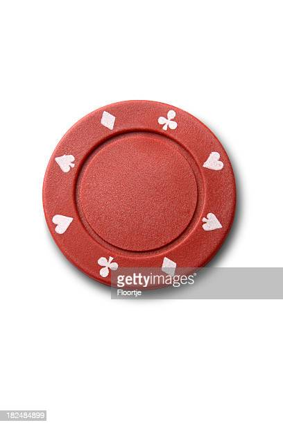 Leisure: Red Poker Chip