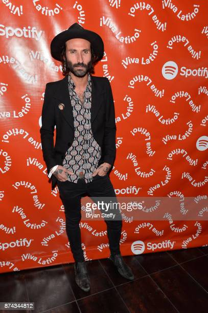 Leiva at Spotify Celebrates Latin Music and Their Viva Latino Playlist at Marquee Nightclub on November 14 2017 in Las Vegas Nevada