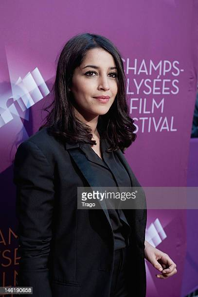 Leïla Bekhti attends 'Mains Armées' premiere during the ChampsElysees Film Festival at Cinema Gaumont Marignan on June 8 2012 in Paris France