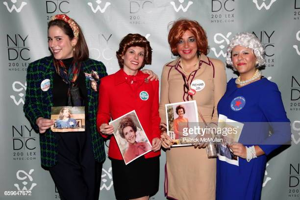 Lela Ilyinsky Jennifer Bouchard Elizabeth Blitzer and Alison Marx attend NEW YORK DESIGN CENTER 4th Annual Masquerade Ball Benefiting The Alpha...