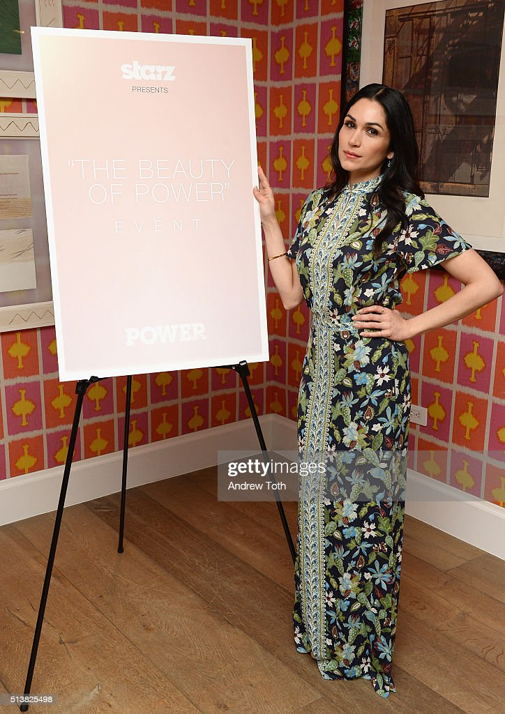 Lela Loren attends the The Beauty Of Power Event at Crosby Hotel on March 4, 2016 in New York City.