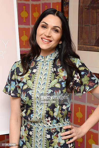Lela Loren attends the The Beauty Of Power Event at Crosby Hotel on March 4 2016 in New York City