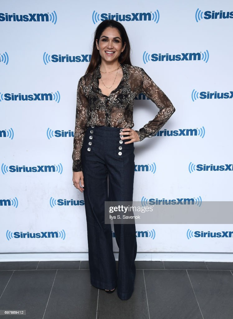 Lela Loren visits the SiriusXM Studios on June 19, 2017 in New York City.