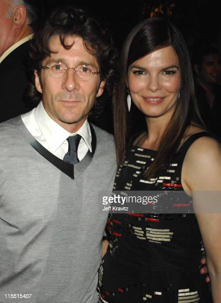 Leland Orser and Jeanne Tripplehorn during 'Big Love' Season Two Premiere After Party at Boulevard 3 in Hollywood California United States