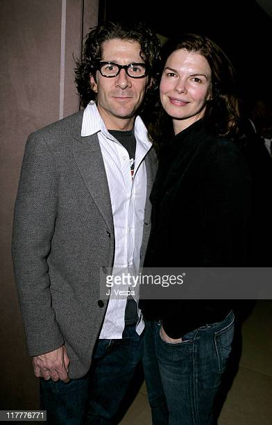 Leland Orser and Jeanne Tripplehorn during Departures Magazine Celebrates Its Los Angeles Issue at The Argyle Hotel in West Hollywood California...