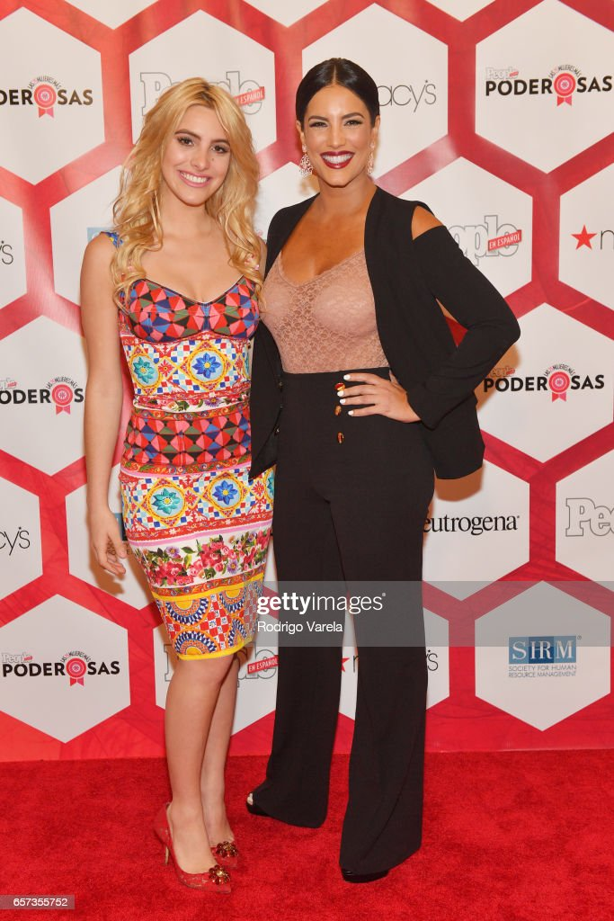 Lele Pons and Gaby Espino attends People En Espanol's 25 Most Powerful Women Luncheon 2017 at Hyatt Regency on March 24, 2017 in Coral Gables, Florida.