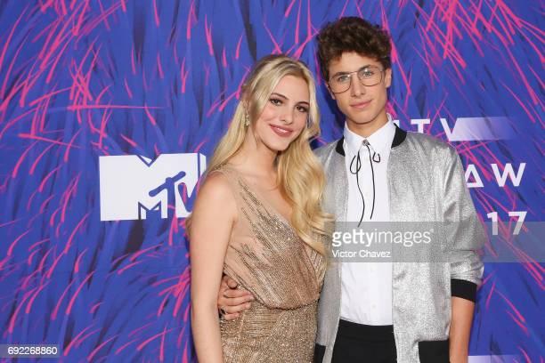 Lele Pons and Juanpa Zurita attend the MTV MIAW Awards 2017 at Palacio de Los Deportes on June 3 2017 in Mexico City Mexico