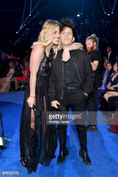Lele Pons and Rudy Mancuso attend The 18th Annual Latin Grammy Awards at MGM Grand Garden Arena on November 16 2017 in Las Vegas Nevada