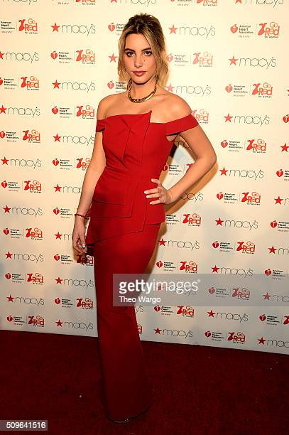 Lele Pons attends The American Heart Association's Go Red For Women Red Dress Collection 2016 Presented By Macy's at The Arc Skylight at Moynihan...
