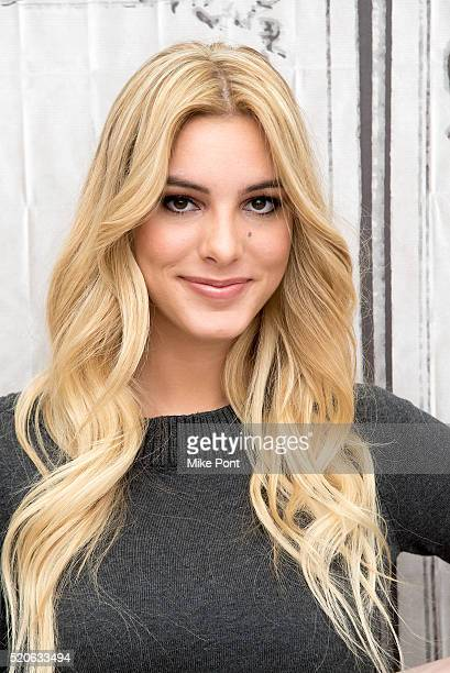 Lele Pons attends the AOL Build Speaker Series to discuss her book 'Surviving High School' at AOL Studios In New York on April 12 2016 in New York...