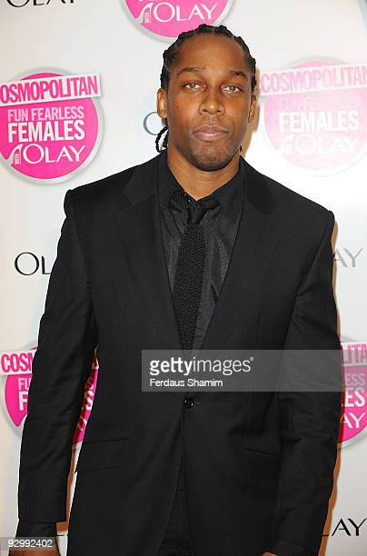 Lemar attends the Cosmopolitan Ultimate Women Of The Year Awards at Banqueting House on November 11 2009 in London England