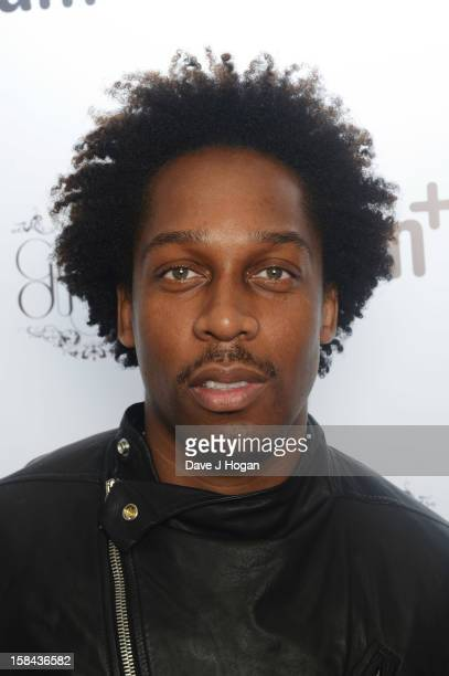 Lemar attends the IAM fotososho Launch Party in association with Cirque Du Soir at One Marylebone on December 16 2012 in London England