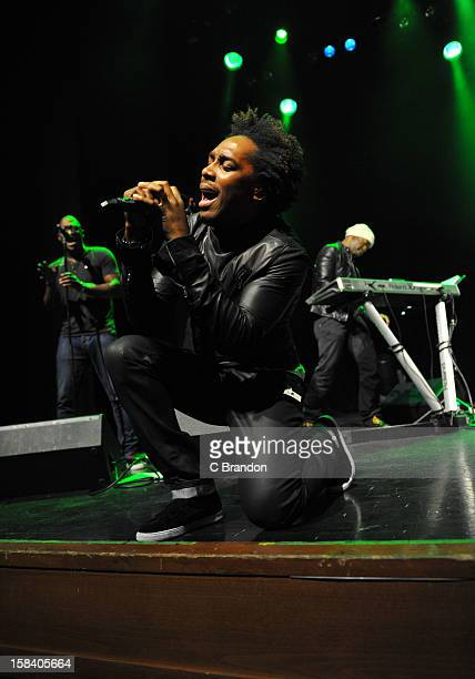 Lemar performs on stage at Indigo2 at O2 Arena on December 15 2012 in London England