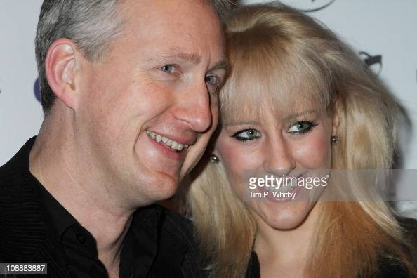 Lembit Opik and Merily McGivern attend the Chortle Comedy Awards at Floridita on February 7 2011 in London England