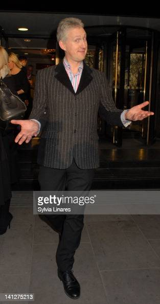 Lembit Opik leaving The Tric Awards held atThe Grosvenor House Hotel on March 13 2012 in London England