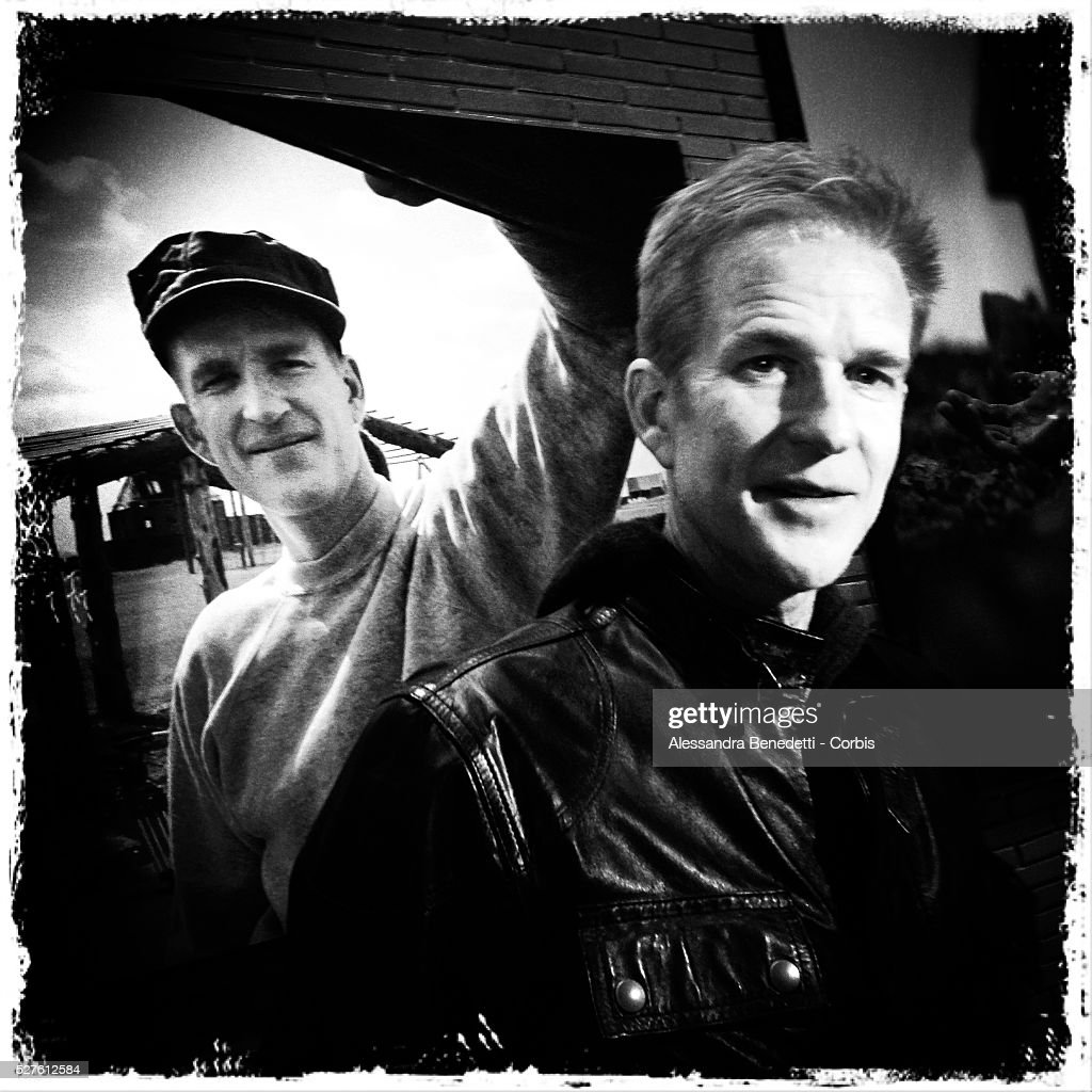 B/W Leme Cam Portrait of Matthew Modine during the opening of his photographic exhibition Full Metal Jacket diary Redux during the 7th International...