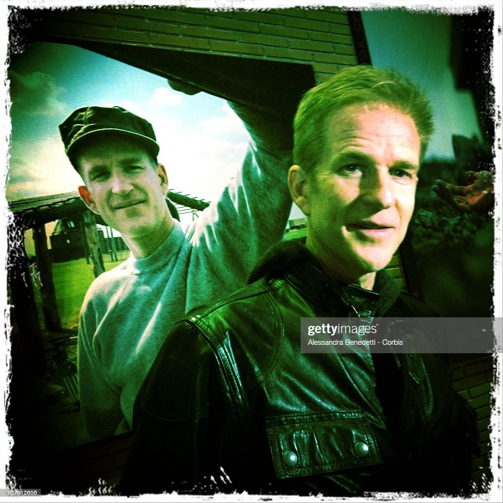 Leme Cam Portrait of Matthew Modine during the opening of his photographic exhibition Full Metal Jacket diary Redux during the 7th International Roma...
