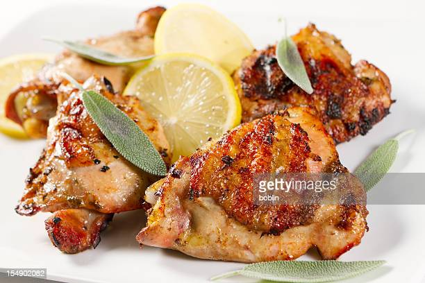 Lemon and Sage Grilled Chicken