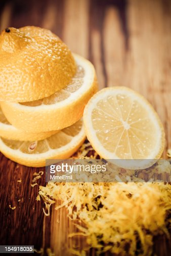 Rallador de lim n fotograf as e im genes de stock getty - Cascara de limon ...