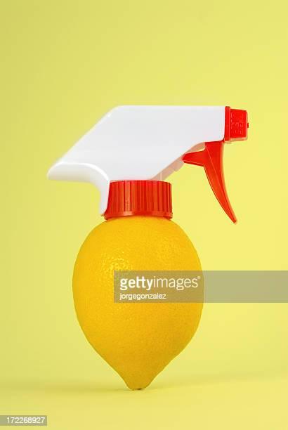 Lemon bottle spray