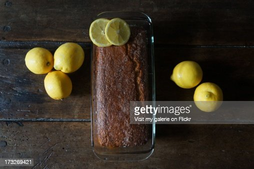 Lemon cake : Stock Photo