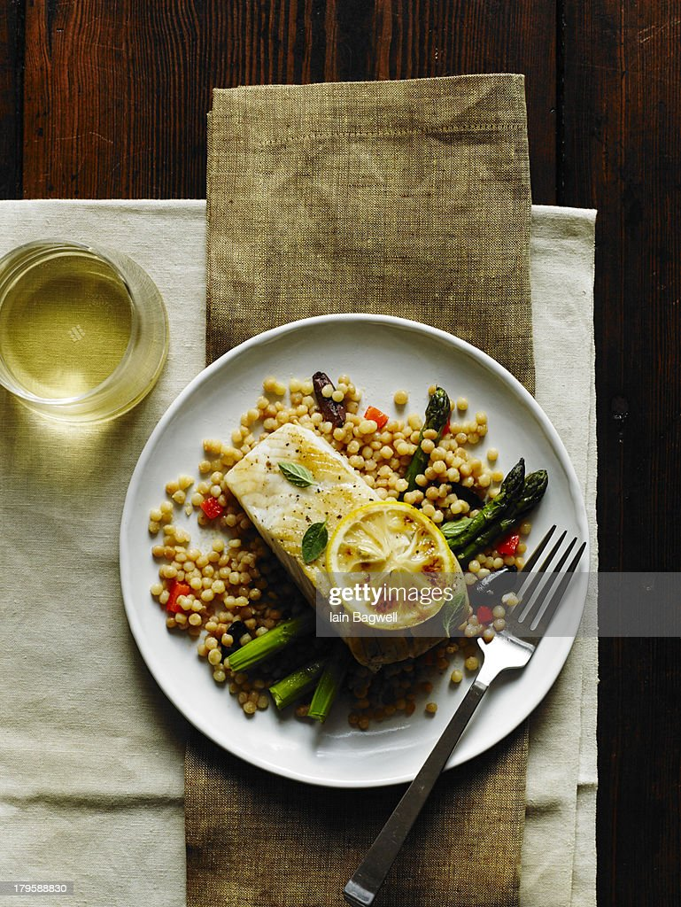 Lemon Fish : Stock Photo
