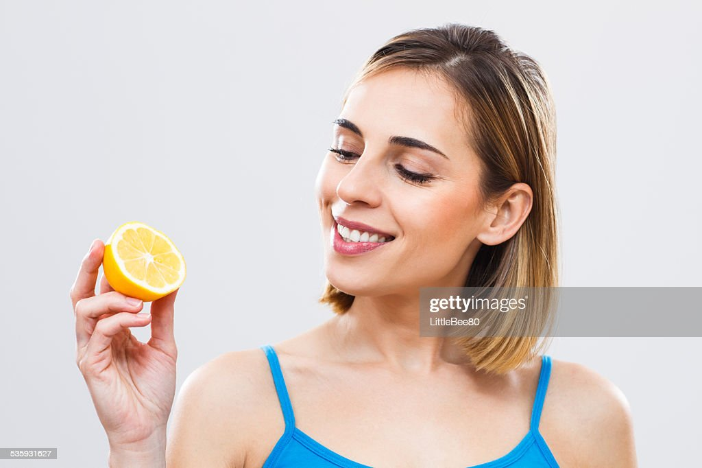 Lemon for your beauty and health! : Stock Photo